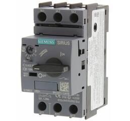 Автоматический выключатель для защиты электродвигателя, 3RV2011-1JA10, Siemens