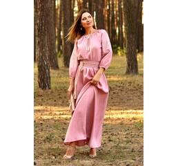 Казково красива сукня пудрово-рожевого відтінку Модель: П16/7-276