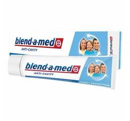 Зубная паста Блендамед анти кариес защита для всей семьи 100 мл Германия оригинал