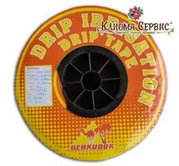 Краплинна стрічка UCHKUDUK DRIP TAPE 7 mil 20 см - 500 м
