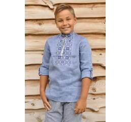 Вышитая детская рубашка для мальчика