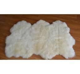 Килим з 3-х овечих шкур (білий)
