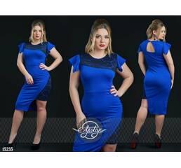 Платье - 15235 (электрик)