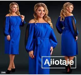 Платье - 23105 (электрик)