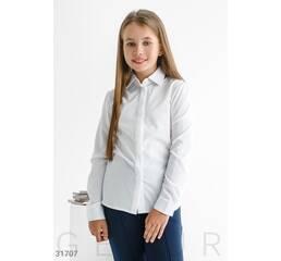 Классическая школьная блуза
