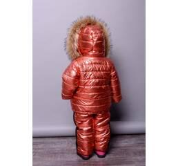 Зимний Костюм – Тройка «Лакшери» Shine (Красный) (Модель: Лакшери)