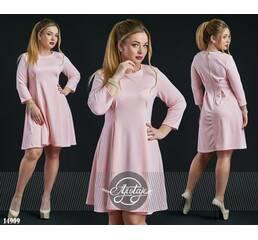 Платье - 14909 (пудра)