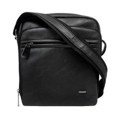 Зручна чоловіча сумка Cavaldi Польща (чорний)