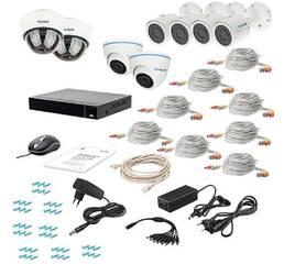 Комплект видеонаблюдения Tecsar AHD 8MIX 5MEGA