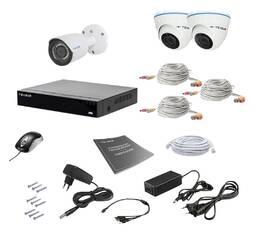 Комплект видеонаблюдения Tecsar AHD 3MIX 2MEGA