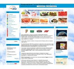 Готовый сайт для продажи рыбы и морепродуктов (+дизайн)