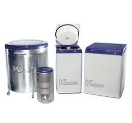 Кріосховища серії К для зберігання стовбурових клітин та інших біоматеріалів