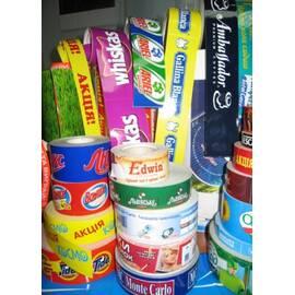 Виготовлення рекламних стрічок у рулонах, бренд-скотчу