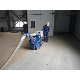 Дробоструминне очищення бетонної підлоги