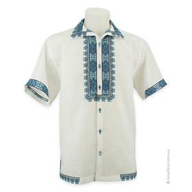 Сорочка вишиванка з коротким рукавом