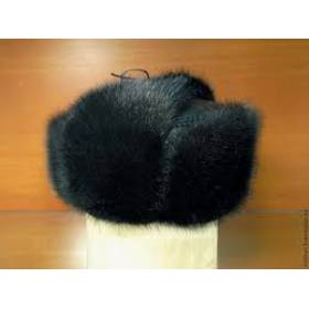 2. Чоловіча хутряна шапка (чорна) ціна fe9f40c2a3426
