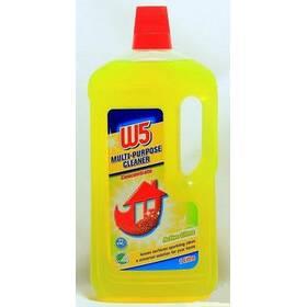 Средство для мытья полов с запахом лимона W5 Lemonfrisch Konzentrat  1250 мл