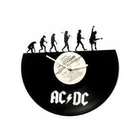 """Виниловые  настенные часы """"AC/DC evolution"""""""