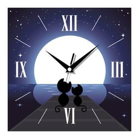 """Красивые часы настенные """"Восход"""""""
