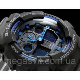 Годинник Casio G - Shock (Касио Джи Шок) - чорно-сині ціна da65255638e2c