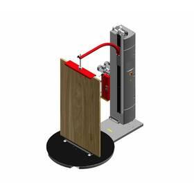 Паллетоупаковщик для вертикальной упаковки дверей WMS 15 Standart 2M с двухмоторной кареткой, купить