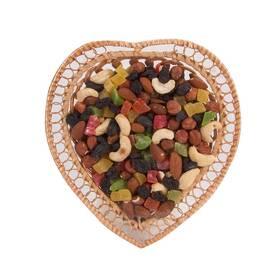 """Подарунковий набір сухофруктів """"Від щирого серця - мікс"""", купити в Черкасах"""