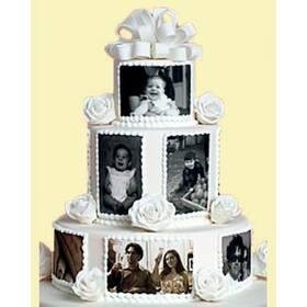 "Торт ""Любимая семья - папа, мама, я"""