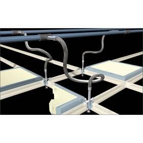 Гофровані труби з нержавіючої сталі для систем пожежогасіння, 2500 мм