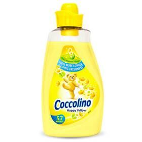 Кондиционер-ополаскиватель Coccolino Happy Yellow, 1,8 л (57 пр)