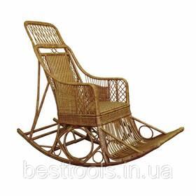 Крісло-гойдалка Черниговчанка з лози