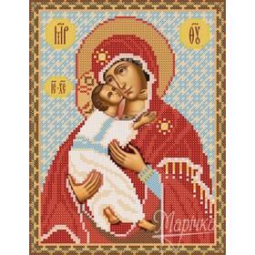Заготовка для вишивки ікони Пр Богородиці Володимирської