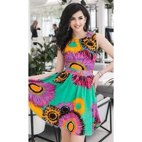 Платье 438321 зеленый Весна-Лето 2018 Украина
