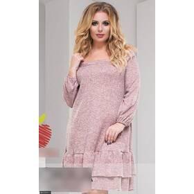 Платье 8511904-1 пудра Весна 2018 Украина