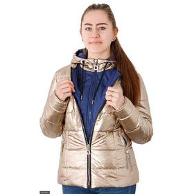 Куртка 333638-1 золото Весна 2018 Украина