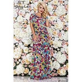 Платье 15447 (малиновый)
