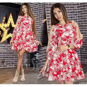 Платье 18868 (красный)