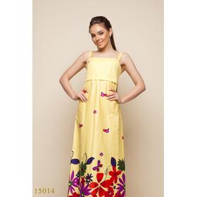 Женское платье 15014 желтый