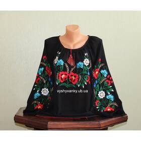 жіноча вишита сорочка ручної роботи недорого