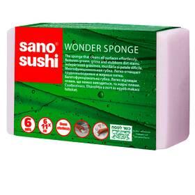 Багатофункціональна губка для легкого і тривалого використання  Sano Sushi, Wonder Sponge 6 шт