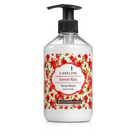 Рідке мило з ароматом мускусной троянди Careline Hand soap Rose Musk, Sweet Kiss 500 мл.