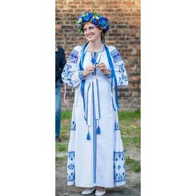 Ексклюзивна сукня вишита ручної роботи ціна 0087e2be70339