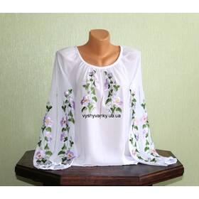 Очень красивая женская рубашка, вышитая гладью