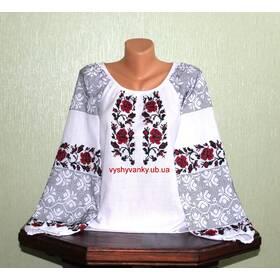 Украинская вышитая рубашка. Стариннный узор. Ручная работа.