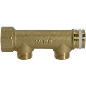 Distributor pieces, brass, with 2 outlets - K-VTST 2 AB MS