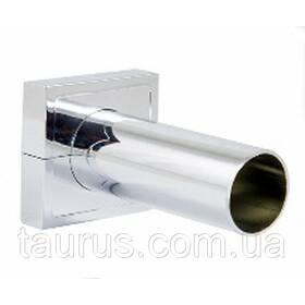 Розбірний маскувальний комплект трубки з фланцем для приховання труб підключення і дроту від ЭлектроТэна, хром