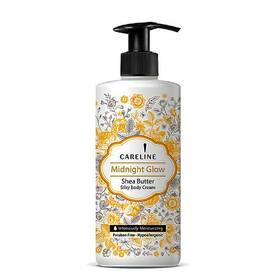 Крем для тіла зволожуючий Careline з ароматом масла Ши. Body Cream Midnight Glow  400 мл.