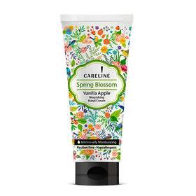 Крем для рук зволожуючий з ароматом яблука та ванілі Hand Cream Careline Spring Blossom 100 мл.