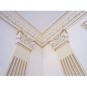 Gypsum pilasters