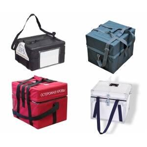 Медичні термокотейнери та термосумки та акумулятори холоду до них