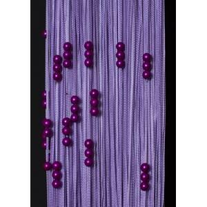 Однотонні нитки локшина з перлами